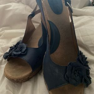 BOC wedge sandals size 10